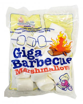 BBQ Giga Marshmallows - 750 gram