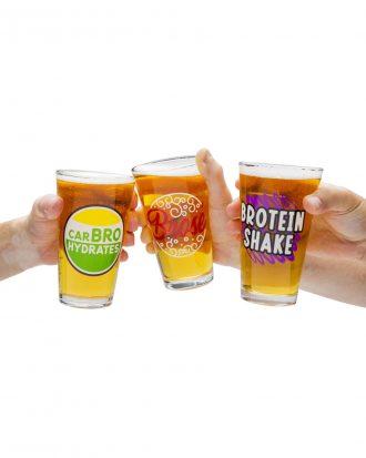 Beer Bros Ölglas - 3-pack