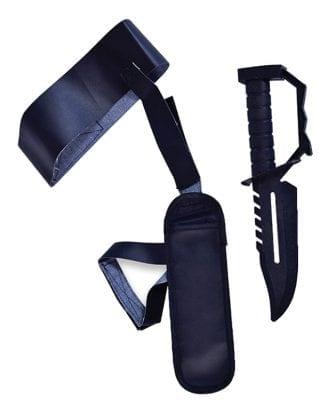Benhölster med Kniv