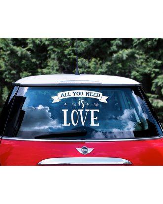 Bildekal All You Need Is Love