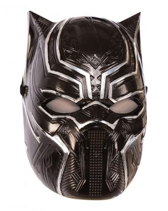 Black Panther Halvmask för Barn - One size