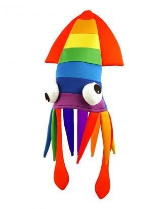 Bläckfisk Regnbåge Hatt