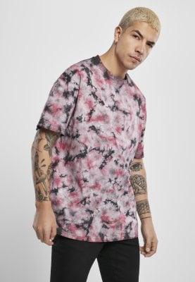 Batikmönstrad T-shirt herr (3XL