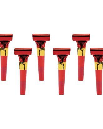 Blåsormar Röd - 6-pack