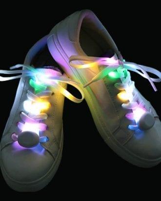 Blinkande Skosnören - Multicolor