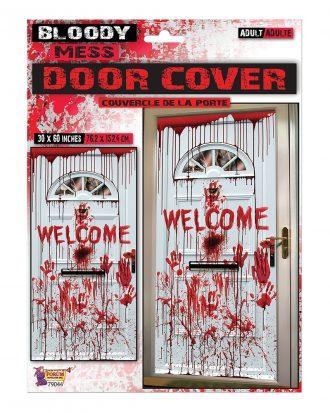 Blodig Welcome Dörrposter