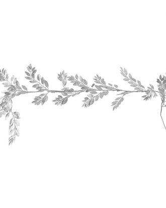 Blomsterdekoration Silver