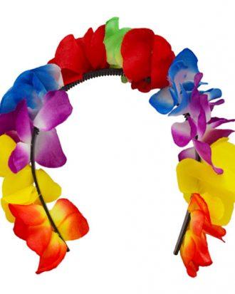 Blomsterdiadem Flerfärgad - One size