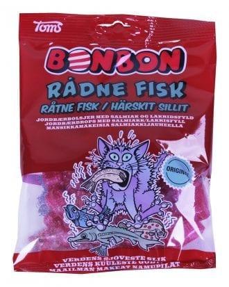 BonBon Rutten Fisk - 125 gram
