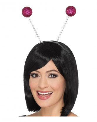 Boppers Glitterbollar Rosa - One size