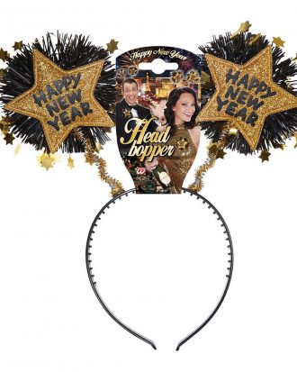 Boppers Happy New Year Guld - One size