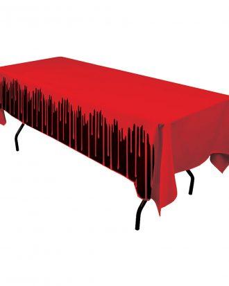 Bordsduk Blodig