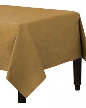 Bordsduk Papper Guld