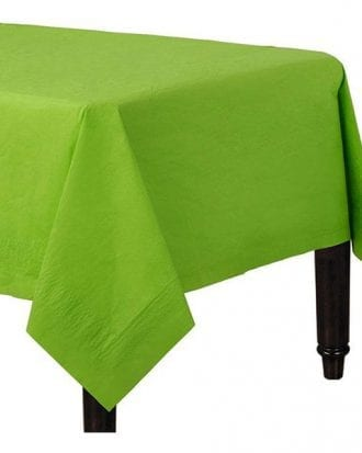 Bordsduk Papper Limegrön