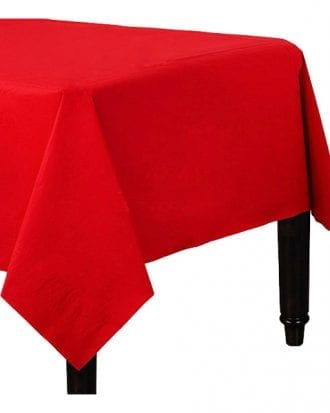 Bordsduk Papper Röd