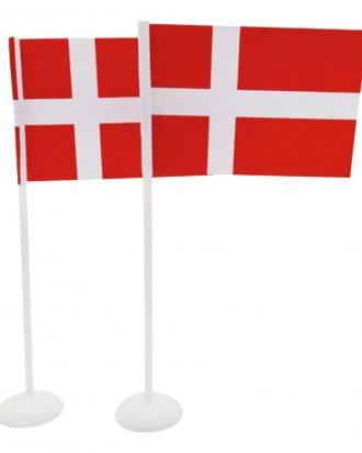 Bordsflagga Danmark - 1-pack