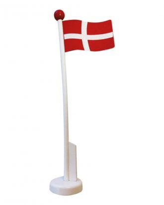 Bordsflagga i Trä Danmark