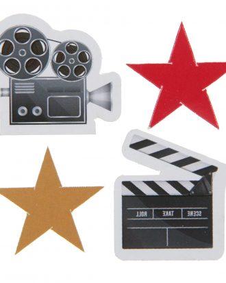 Bordskonfetti Hollywood - 50-pack