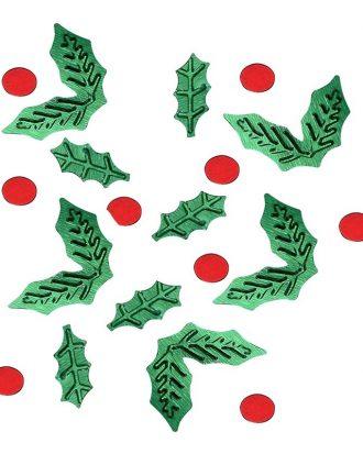 Bordskonfetti Mistel Röd/Grön - 13 gram