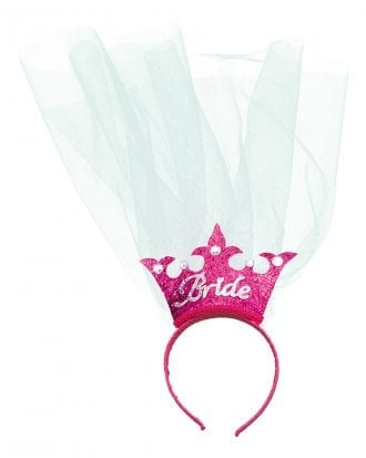Bride Diadem med Slöja