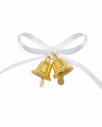 Bröllopsdekoration Guldklockor - 12-pack