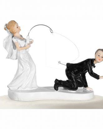 Bröllopsfigur Fiskespö