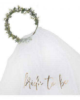 Brudslöja Bride To Be - One size