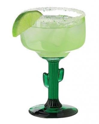 Cactus Margaritaglas - 4-pack