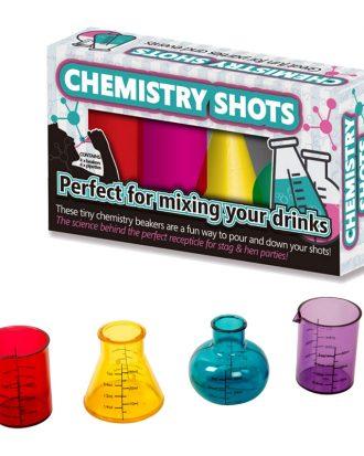 Chemistry Shots Shotglas - 4-pack