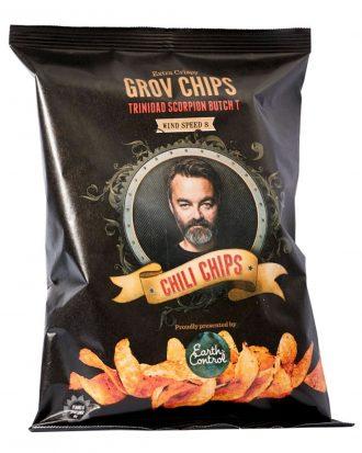 Chili Klaus Chips - Vindstyrka 8