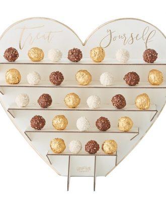 Chokladställ av Papp Bröllop