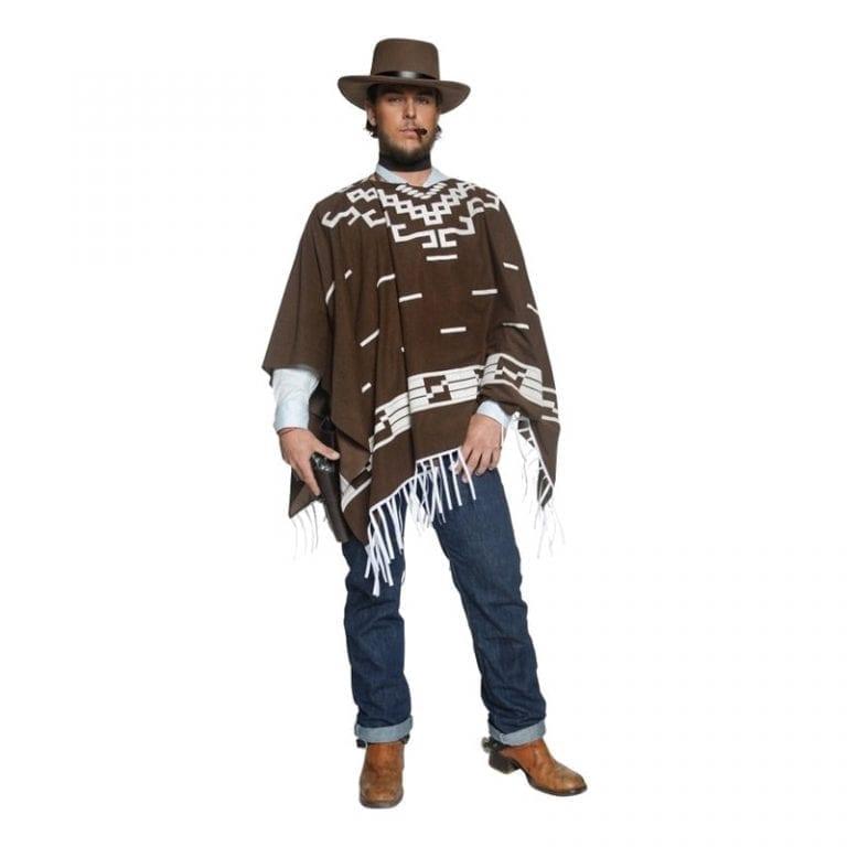 Clint Eastwood Maskeraddräkt - Large