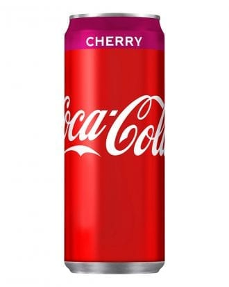 Coca-Cola Cherry - 20-pack (Hel platta)