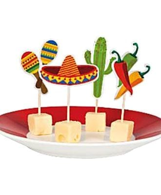 Cocktailpinnar Fiesta! - 12-Pack