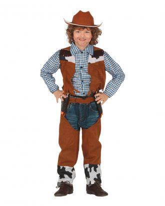 Cowboy Klassisk Barn Maskeraddräkt - Large