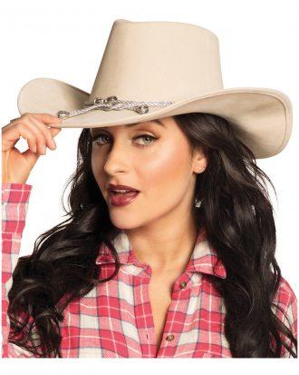 Cowboyhatt Beige - One size