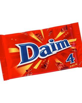 Daim 4-pack - 112 gram