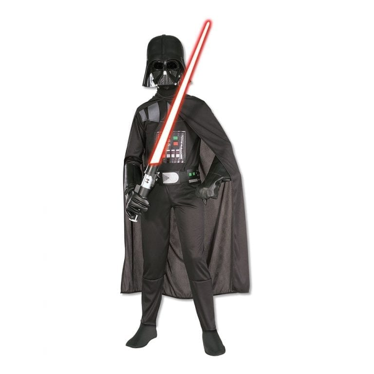 Darth Vader Barn Maskeraddräkt - Large
