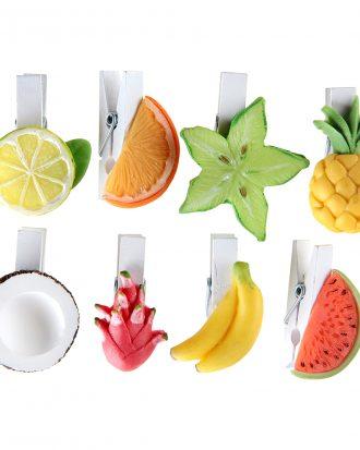 Dekoration på Klämma Frukter - 8-pack