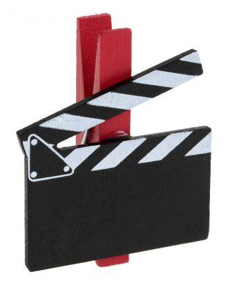 Dekoration på Klämma Hollywood - 6-pack