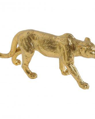 Dekoration Leopard Guld