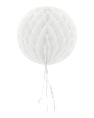 Dekorationsboll Vit - 50 cm