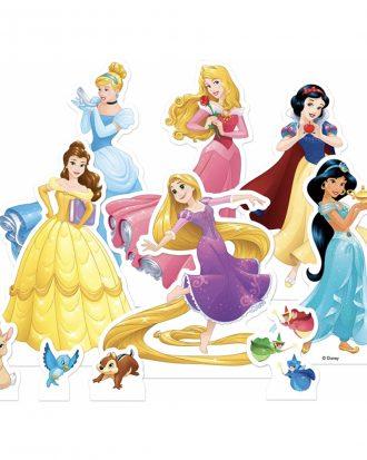 Disney Prinsessor Bordsdekorationer i Papp - 10-pack
