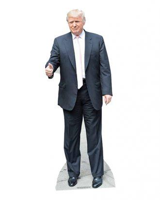 Donald Trump Kartongfigur