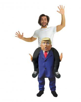 Donald Trump Piggyback Maskeraddräkt