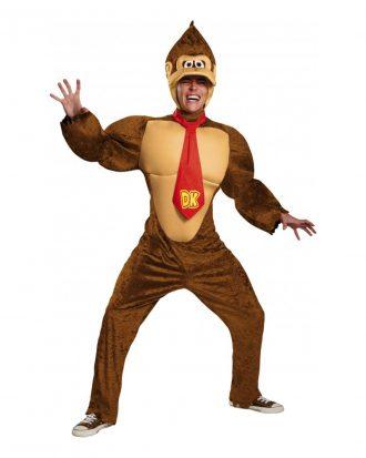 Donkey Kong Deluxe Maskeraddräkt - XX-Large