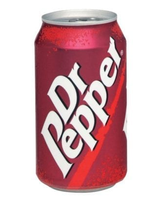 Dr Pepper Original - 24-pack (Hel platta)
