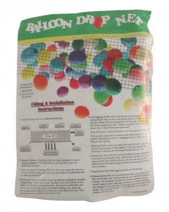Drop Net för Ballonger - X-Large