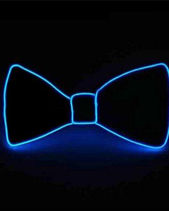 El Wire LED Fluga - Blå