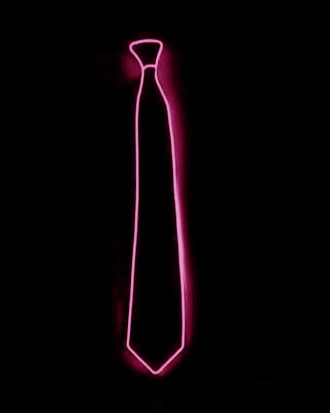 El Wire LED Slips - Rosa